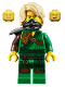 Minifig No: njo517  Name: Lloyd - Secrets of the Forbidden Spinjitzu, Hair
