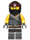 Minifig No: njo551  Name: Cole - Legacy, Sons of Garmadon Robe