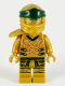 Minifig No: njo584  Name: Lloyd (Golden Ninja), Right Shoulder Armor - Legacy