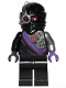 Minifig No: njo591  Name: Nindroid Warrior, Single Sided Head - Legacy