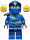 Minifig No: njo598  Name: Jay - Legacy, Armor Shoulder Pad