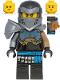 Minifig No: njo604  Name: Nya Hero - Clip on Back