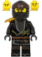 Minifig No: njo618  Name: Cole - Legacy, Pearl Gold Armor Shoulder Pad