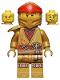 Minifig No: njo650  Name: Kai - Legacy, Pearl Gold Robe