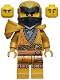 Minifig No: njo651  Name: Cole - Legacy, Pearl Gold Robe