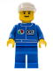 Minifig No: oct005  Name: Octan - Blue Oil, Blue Legs, White Cap