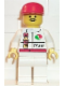 Minifig No: oct024  Name: Octan - Race Team, White Legs, Red Cap