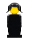 Minifig No: old032  Name: Legoland - Black Torso, Black Legs, Black Pigtails Hair