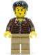 Minifig No: pha012  Name: Jake Raines - Aviator Jacket