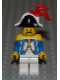 Minifig No: pi004b  Name: Imperial Soldier - Governor with Red Feather