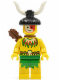 Minifig No: pi079  Name: Islander, Male with Quiver