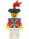Minifig No: pi085  Name: Imperial Soldier II - Officer with Red Plume