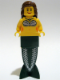 Minifig No: pi088  Name: Mermaid - Long with Bracket