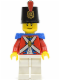 Minifig No: pi090  Name: Imperial Soldier II - Shako Hat Printed, Scowl