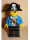 Minifig No: pi102  Name: Pirate Blue Jacket