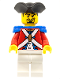 Minifig No: pi109  Name: Imperial Soldier II - Officer without Plume