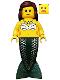 Minifig No: pi113  Name: Mermaid
