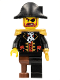 Minifig No: pi116  Name: Captain Brickbeard - Plain Bicorne Hat