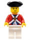 Minifig No: pi125  Name: Imperial Soldier II - Officer, Scowl