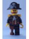 Minifig No: pi142  Name: Captain Brickbeard, No Eyepatch