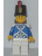 Minifig No: pi153  Name: Bluecoat Soldier 2 - Lopsided Smile