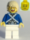 Minifig No: pi175a  Name: Bluecoat Soldier 7 - Tousled Hair (Head 6123714)