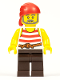 Minifig No: pi179  Name: Pirate