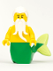 Minifig No: pi183  Name: Merman - Green Tail