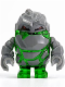 Minifig No: pm001  Name: Rock Monster - Boulderax (Trans-Green)