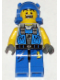 Minifig No: pm006  Name: Power Miner - Beard Stubble Guy