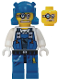 Minifig No: pm007  Name: Power Miner - Brains