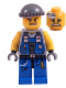 Minifig No: pm012  Name: Power Miner - Engineer, Knit Cap