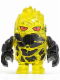 Minifig No: pm023  Name: Rock Monster - Combustix (Trans-Yellow)