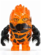 Minifig No: pm025  Name: Rock Monster - Firax  (Trans-Orange)