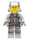 Minifig No: pm030  Name: Power Miner - Doc, Gray Outfit