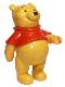 Minifig No: pooh  Name: Duplo Figure Winnie the Pooh, Winnie