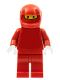 Minifig No: rac025  Name: F1 Ferrari Pit Crew Member - without Torso Stickers