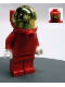 Minifig No: rac033  Name: F1 Ferrari Pit Crew Member, Fuel - without Torso Stickers