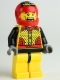 Minifig No: rac048  Name: Motor Mike