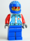 Minifig No: rac049  Name: Captain Stunt