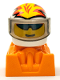 Minifig No: rac085  Name: Lightning Streak