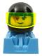 Minifig No: rac099  Name: Blue Power