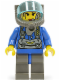 Minifig No: rck009  Name: Jet - Trans-Light Blue Visor