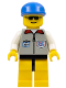 Minifig No: res001  Name: Coast Guard 1 - Yellow Legs, Blue Cap