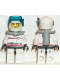 Minifig No: rsq007  Name: Res-Q 3 - Diver