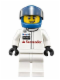 Minifig No: sc004  Name: McLaren Mercedes Race Car Driver