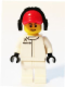 Minifig No: sc005  Name: McLaren Mercedes Pit Crew Member, Male