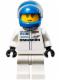 Minifig No: sc032  Name: Porsche 919 Hybrid Driver, Blue Helmet