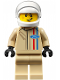 Minifig No: sc037  Name: Ford 1966 GT40 Driver