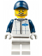 Minifig No: sc039  Name: Ford Race Official